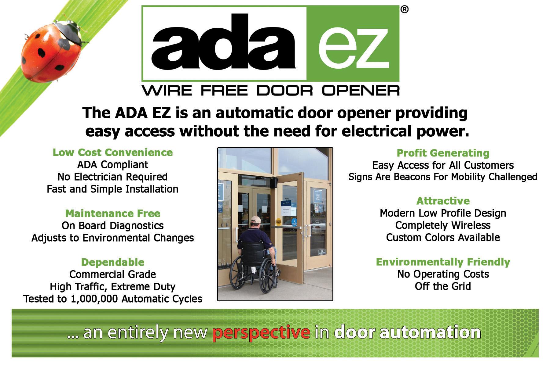 Automatic Door Opener Commercial Ada ez Automatic Door Opener