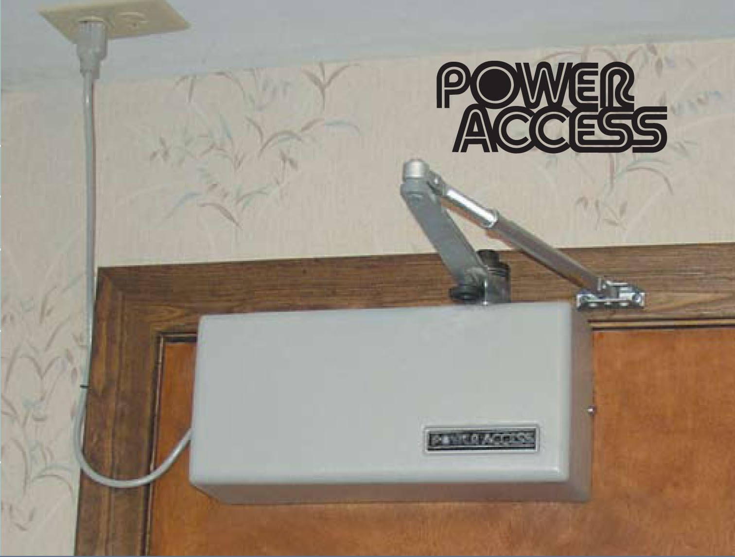 Power access automatic door openers at barrier free